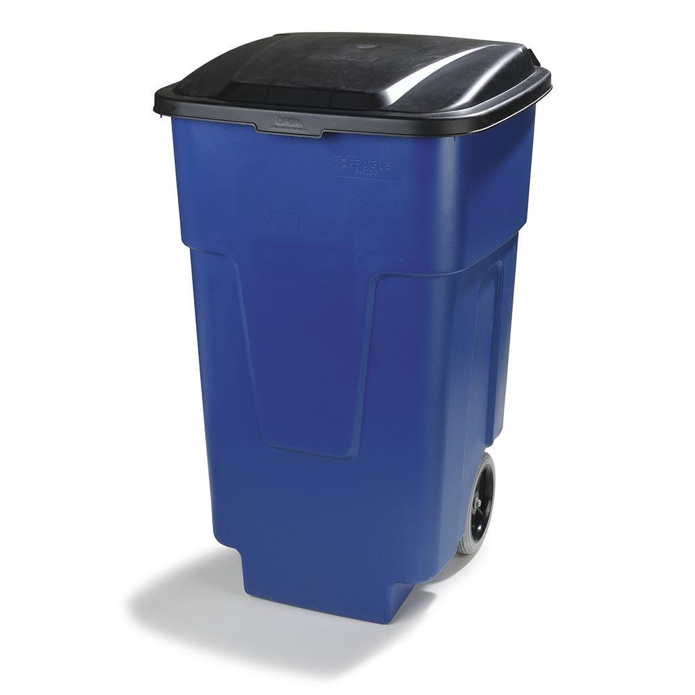 Carlisle 34505014 50 gal Multiple Materials Recycle Bin - Indoor, Wheels