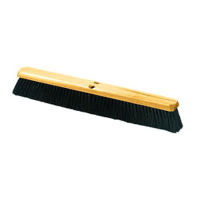 "Carlisle 360123600 36"" Floor Sweep - Medium, Hardwood Block, 3"" Tampico Bristles"