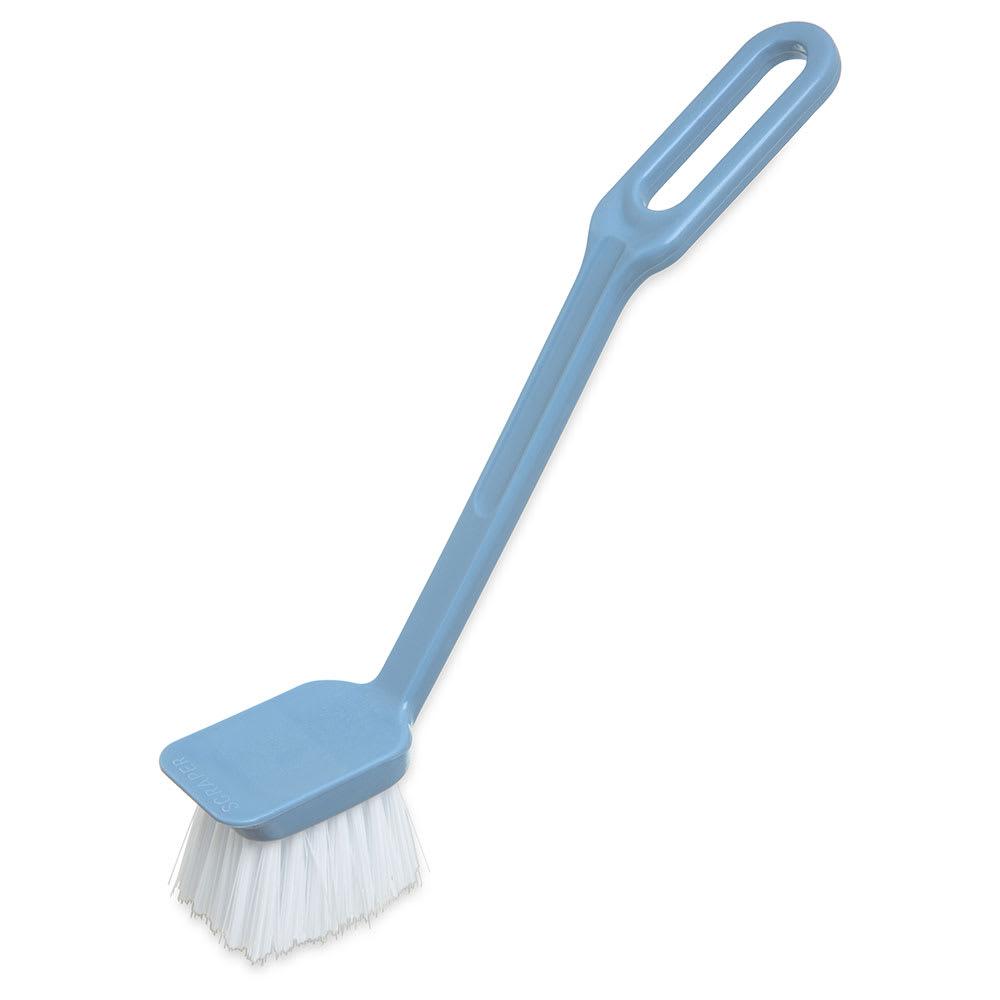 "Carlisle 361014000 8"" Dish/Sink Brush - Angled, Poly/Plastic"