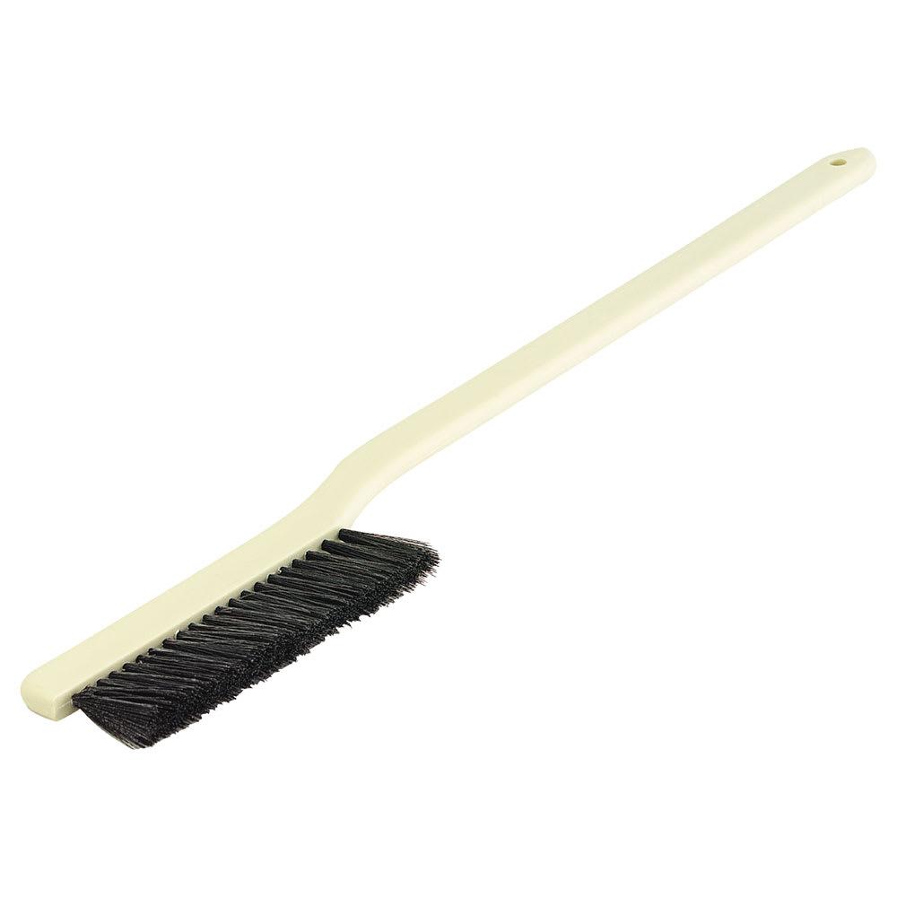"Carlisle 3612203 24"" Radiator/Vent Brush - Plastic/Styrene, Black"