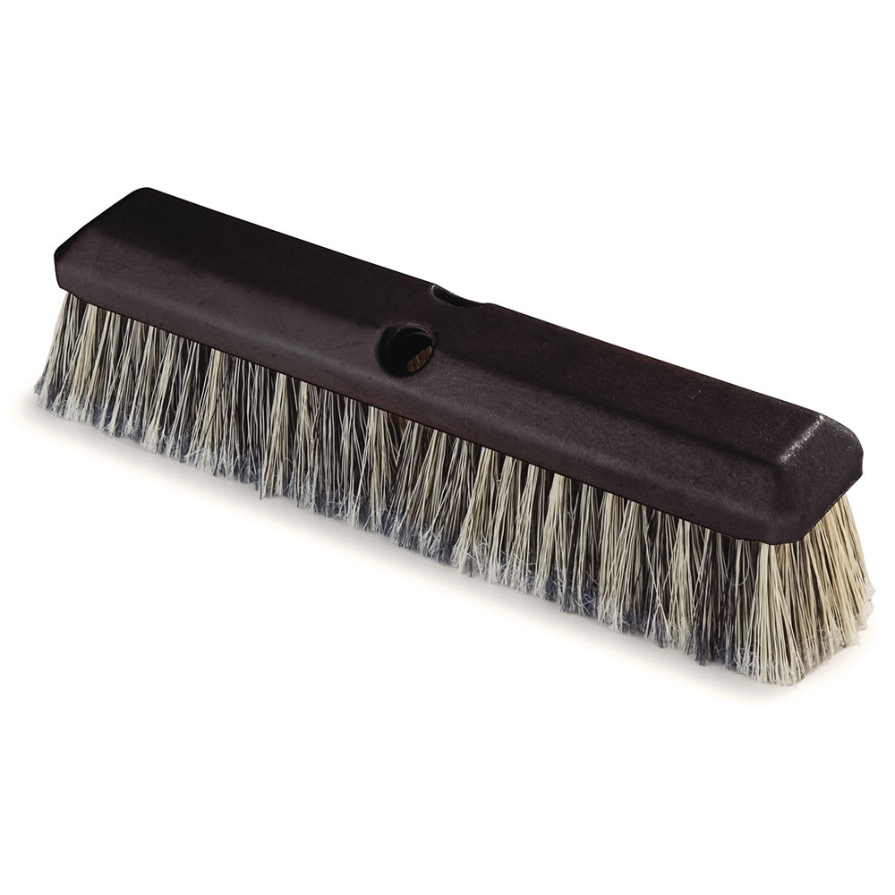 "Carlisle 36123423 14"" Vehicle Wash Brush - Poly/Plastic, Gray"