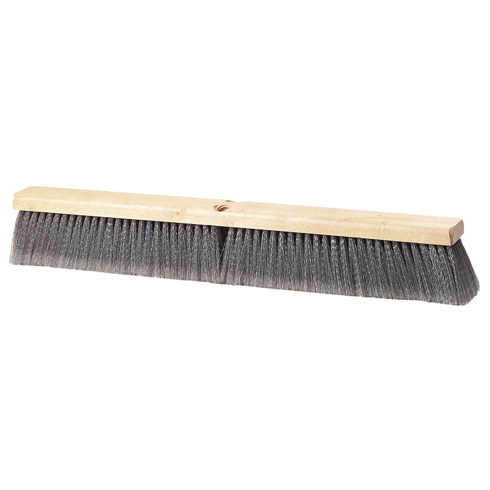 "Carlisle 3621953623 36"" Basic Sweep Floor Brush - Palmyra/Tampico, Gray"