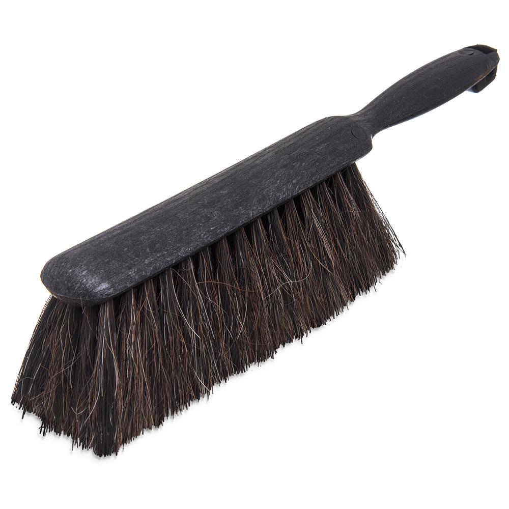 "Carlisle 3622523 8"" Counter/Bench Brush - Horsehair/Plastic, Gray"