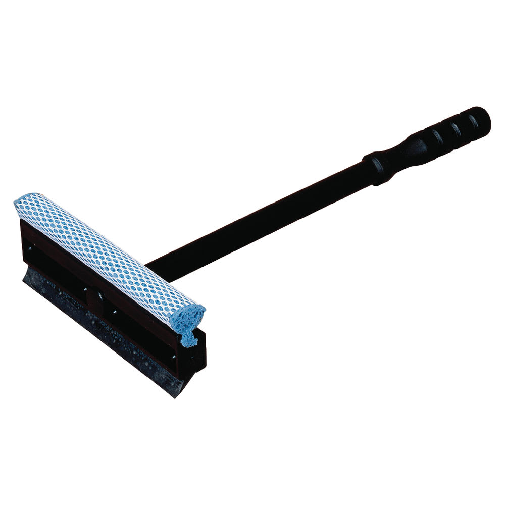 "Carlisle 36286800 14 7/8"" Windshield Washer/Squeegee - Neoprene, Black"