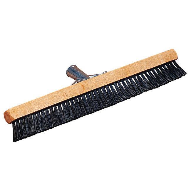 "Carlisle 3629703 18"" Pile Brush - Nylon/Wood, Black"