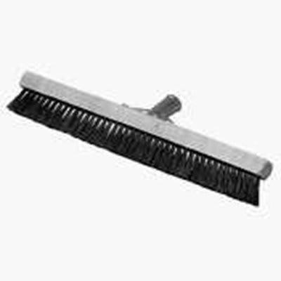 """Carlisle 3639700 18"""" Pile Brush - Wood/Nylon, White"""