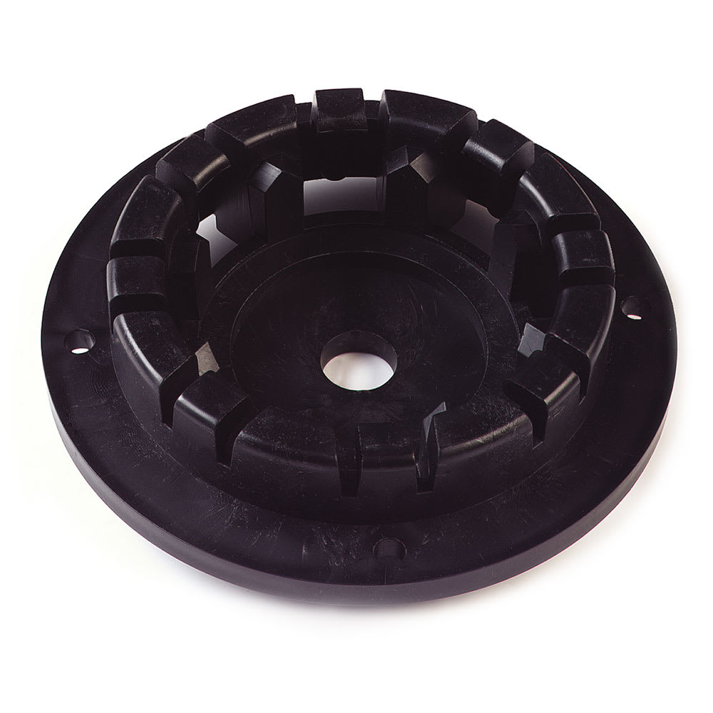 "Carlisle 364105 5"" Clutch Plate for Brushes, Black"