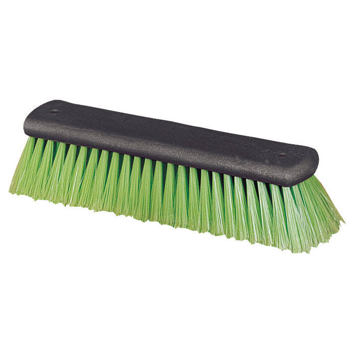 "Carlisle 3644775 12"" Wash Brush - Nylex, Lime"
