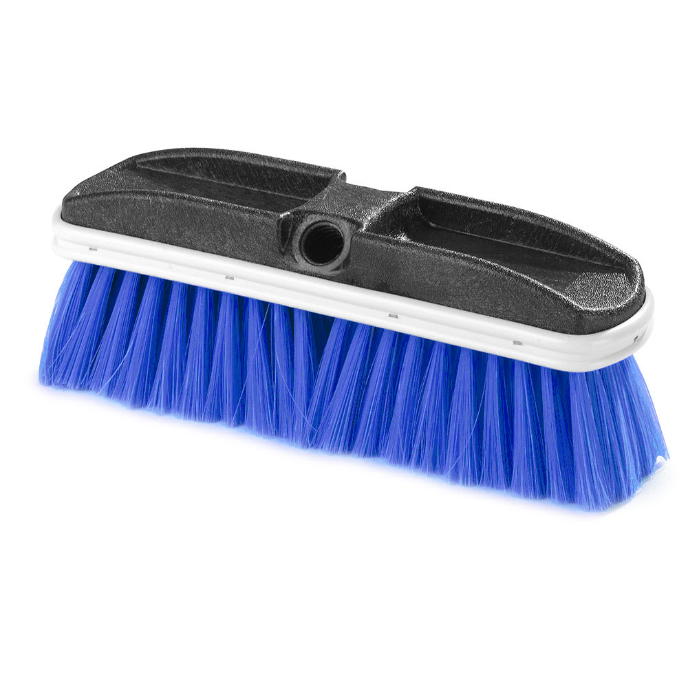 "Carlisle 3646814 10"" Truck Wash Brush - Plastic/Nylex, Blue"