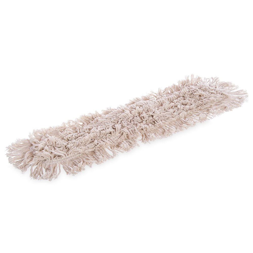 "Carlisle 364732400 24"" Flo-Pac® Dust Mop Head Only w/ Cut Ends, Tan"
