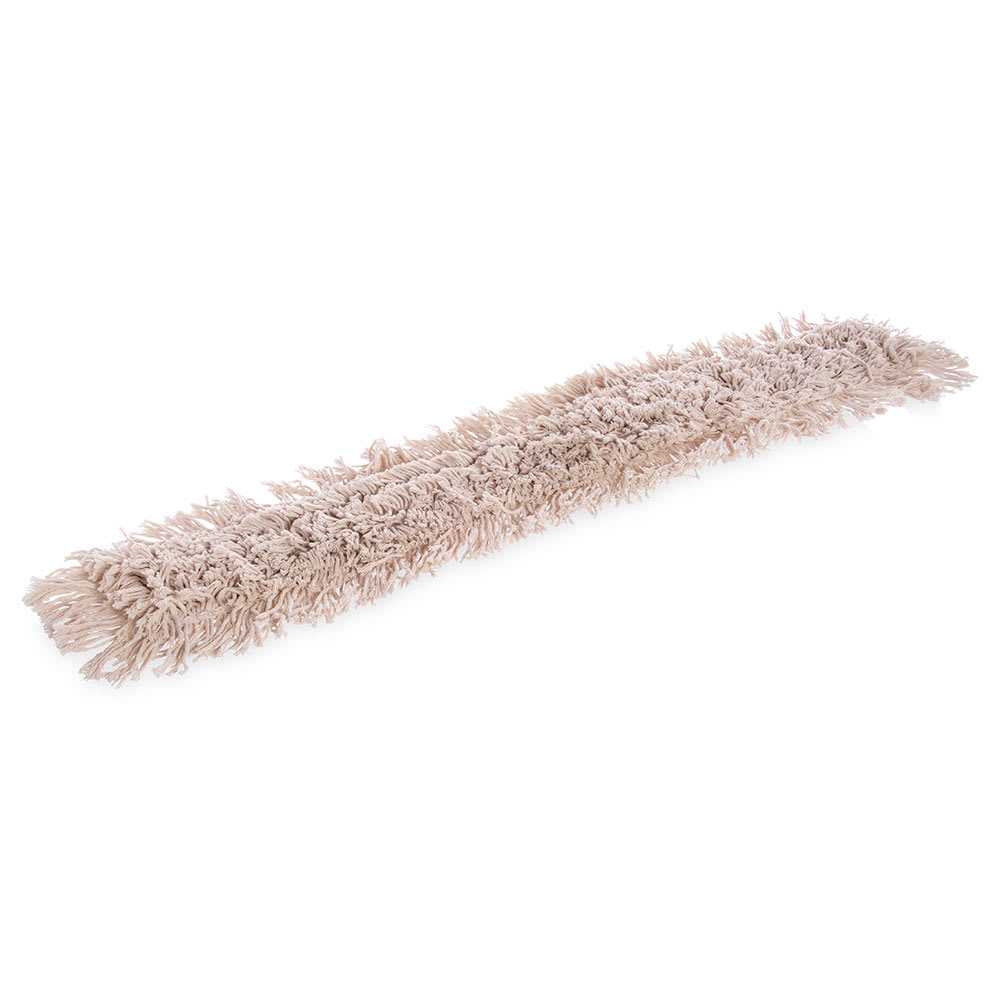 "Carlisle 364733600 36"" Flo-Pac® Dust Mop Head Only w/ Cut Ends, Tan"