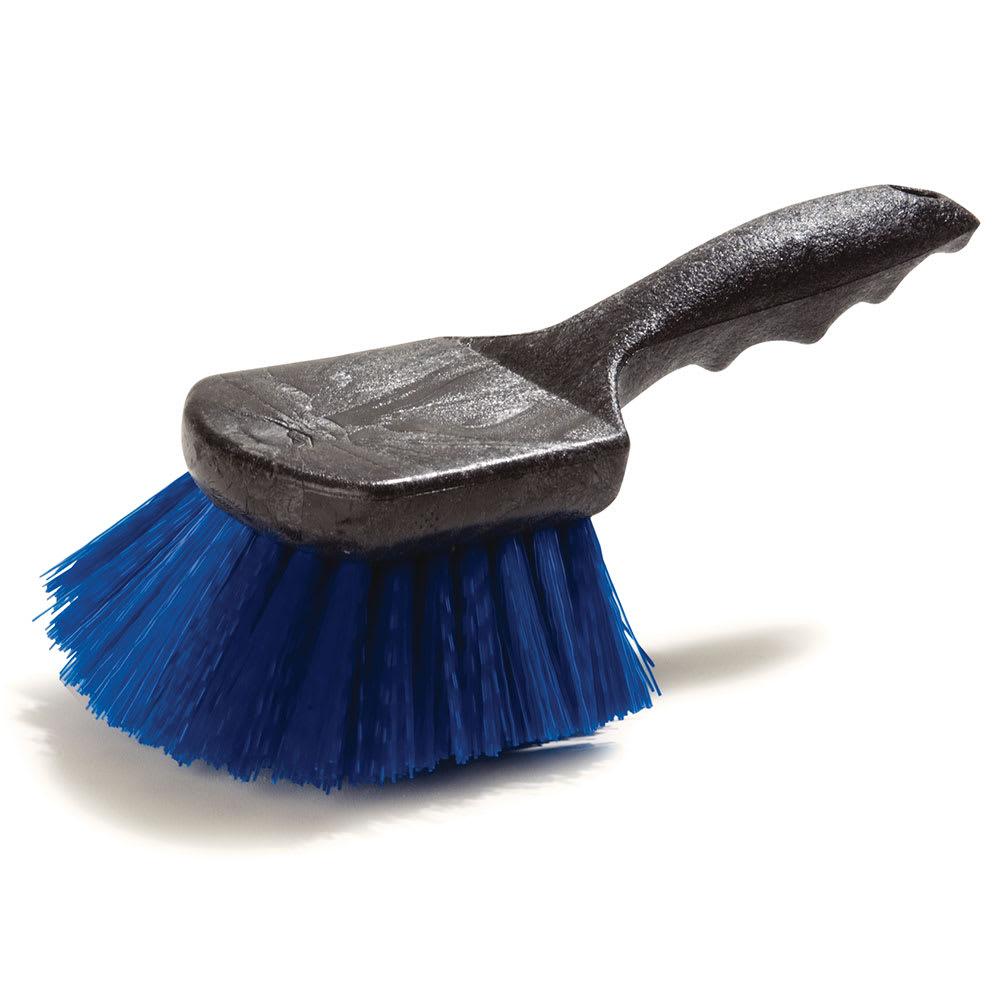 "Carlisle 3650514 8 1/2"" Utility Scrub Brush - Poly/Plastic, Blue"
