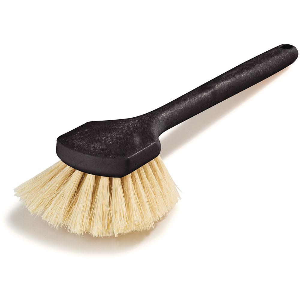 "Carlisle 36509L00 20"" Utility Scrub Brush - Tampico/Plastic"