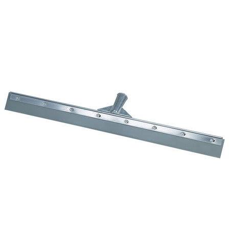 """Carlisle 36603600 36"""" Floor Squeegee - Straight Vinyl Blade, Metal Frame, Gray"""