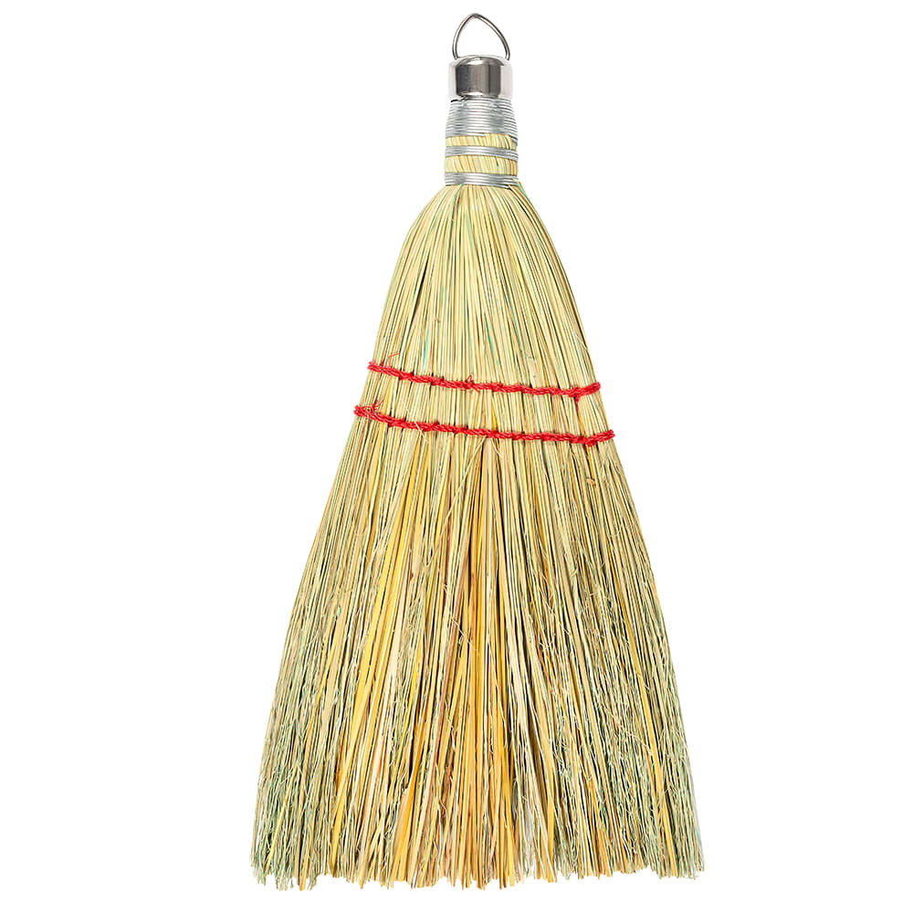 "Carlisle 3663300 10""L Flo-Pac® Whisk Broom w/ Corn Bristles"