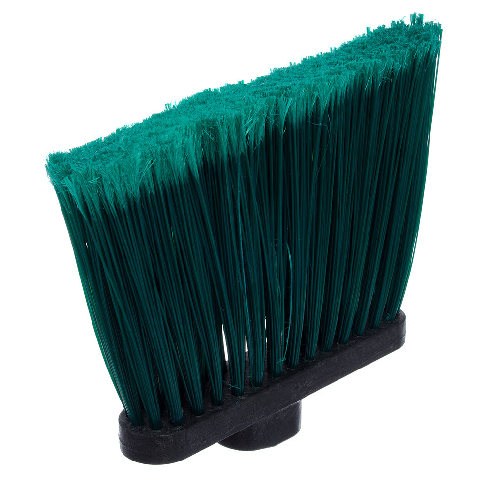 "Carlisle 3686709 12""W Duo-Sweep® Angle Broom Head, Green"