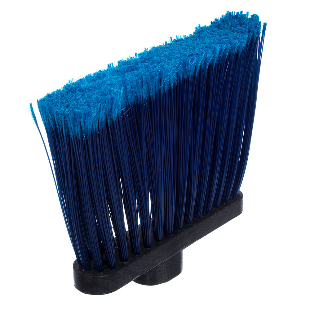 "Carlisle 3686714 12""W Duo-Sweep® Angle Broom Head, Blue"