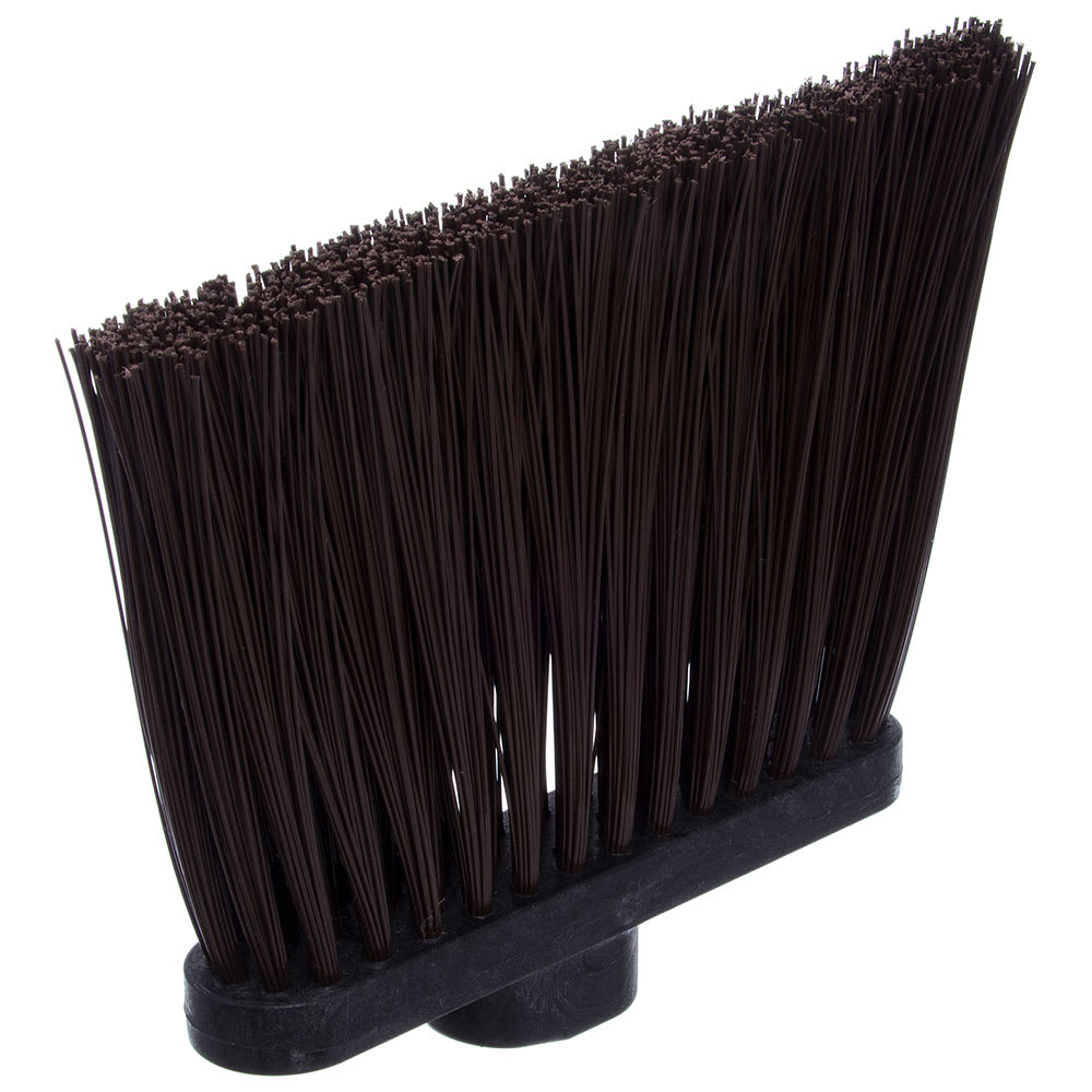"Carlisle 3686801 12"" Angle Broom Head - Medium-Duty, Polypropylene, Brown"