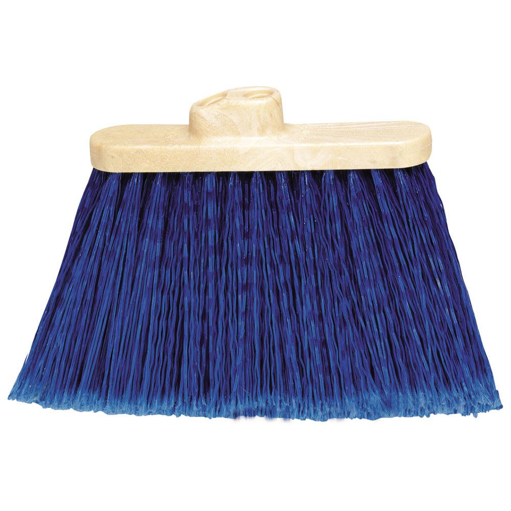 Carlisle 3687314 Warehouse Broom Head - 2-Handle Holes, Blue