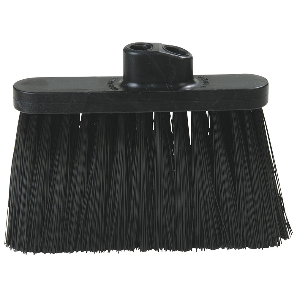 "Carlisle 3687403 13""W Duo-Sweep® Angle Broom Head, Black"