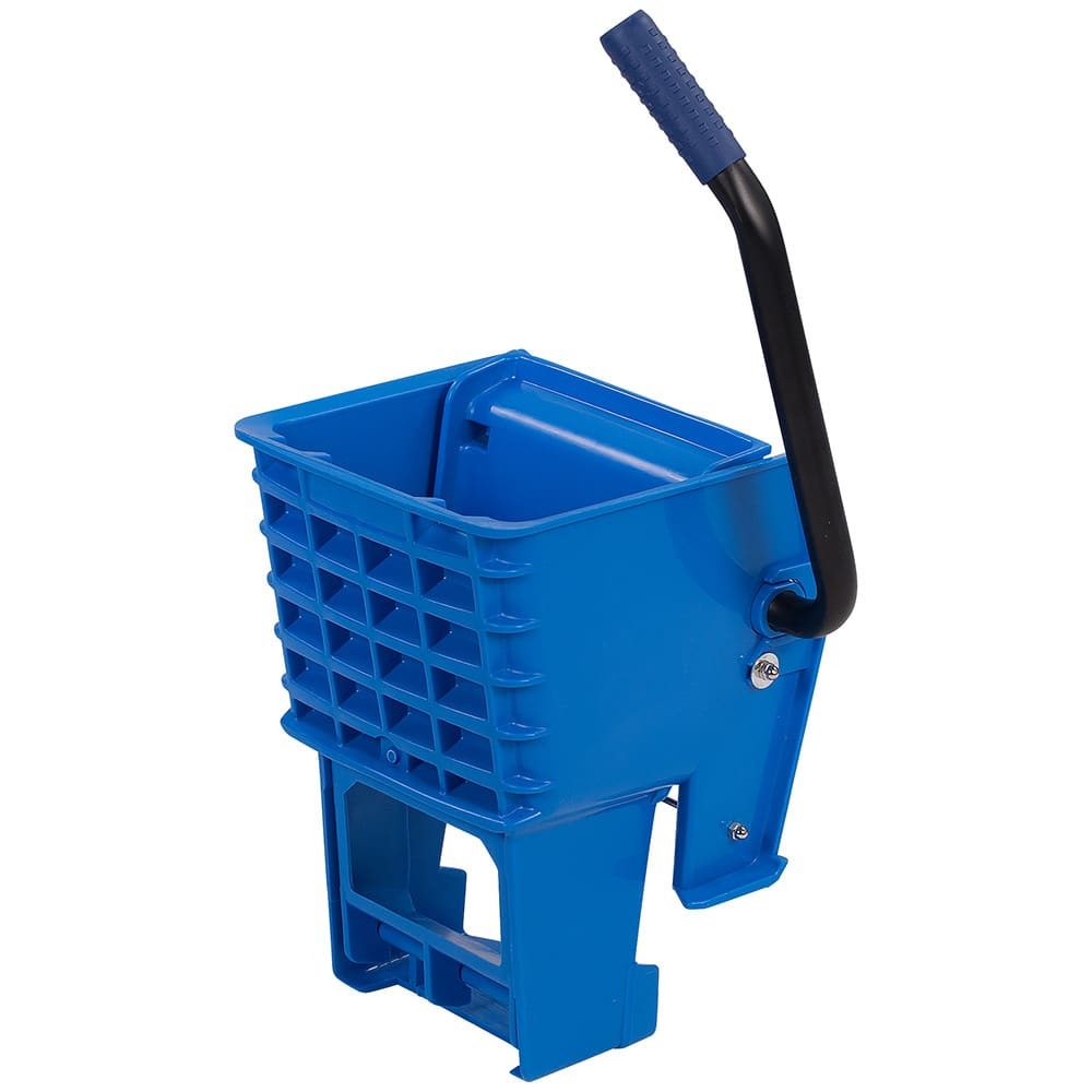 Carlisle 36908W14 Side-Press Mop Wringer - Fits 26/35-qt, Polyethylene, Blue