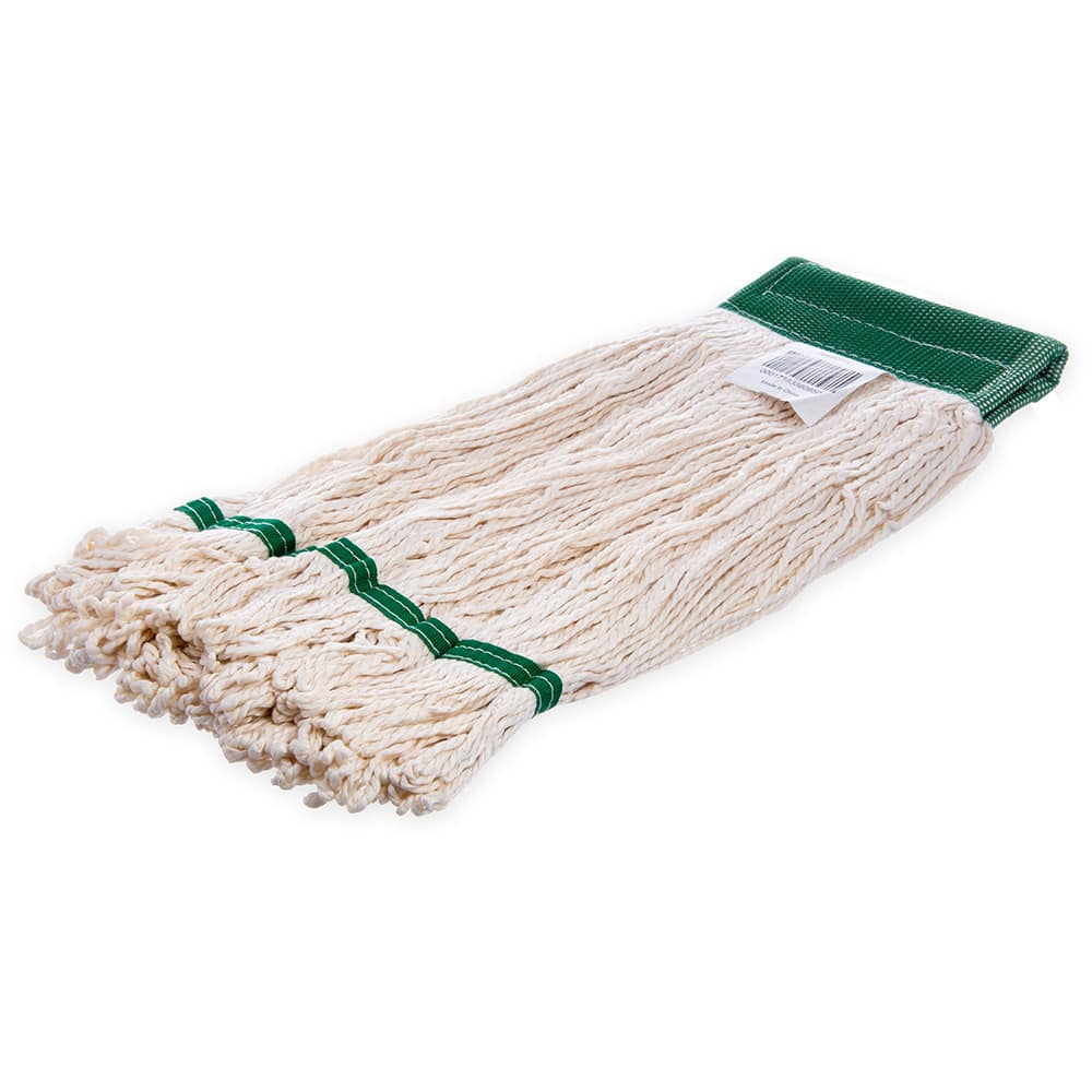 Carlisle 36952002 Bamboo Silk Mop Head - White Bamboo Silk Yarn