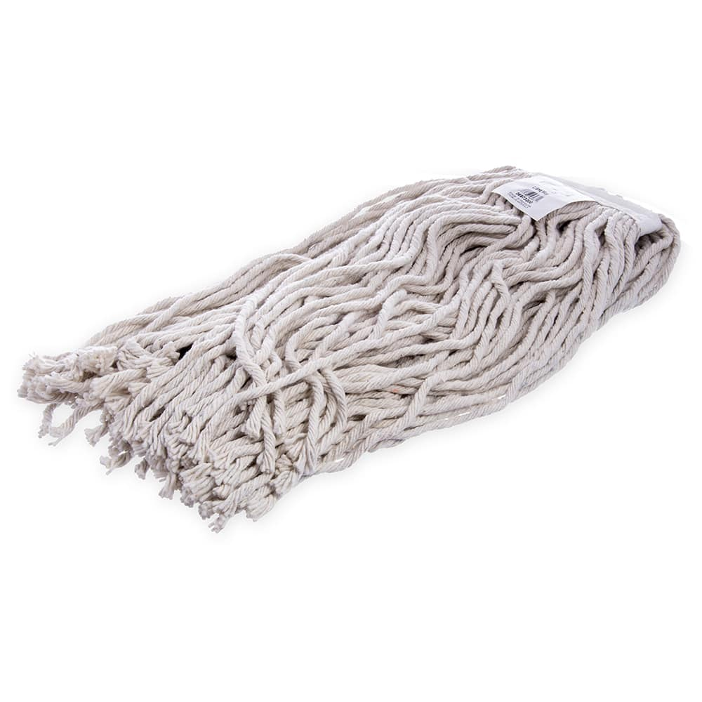 Carlisle 36973200 Wet Mop Head - #32, 8-Ply, Cut-End, Natural Cotton Yarn