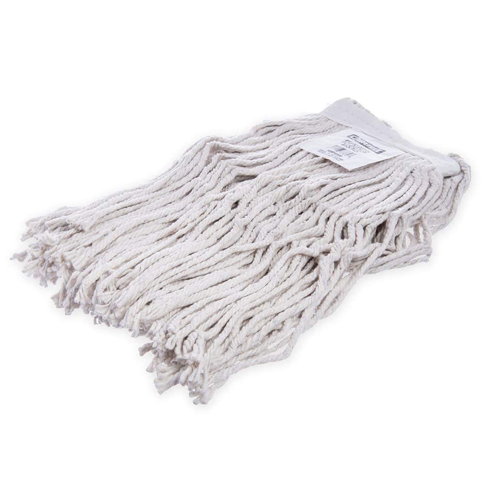 Carlisle 369816B00 Wet Mop Head - #16, 4 Ply, Cut-End, Natural Cotton Yarn
