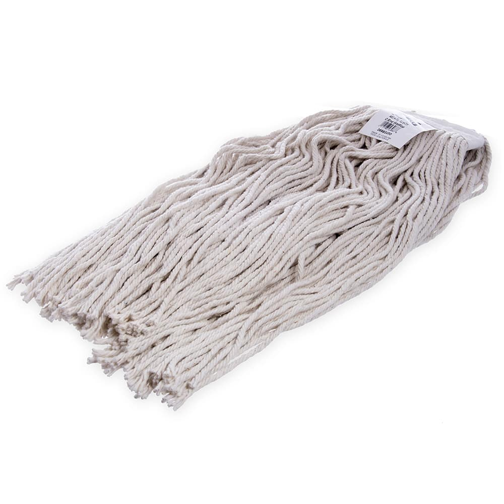 Carlisle 36983200 Wet Mop Head - #32, 4-Ply, Cut-End, Natural Cotton Yarn
