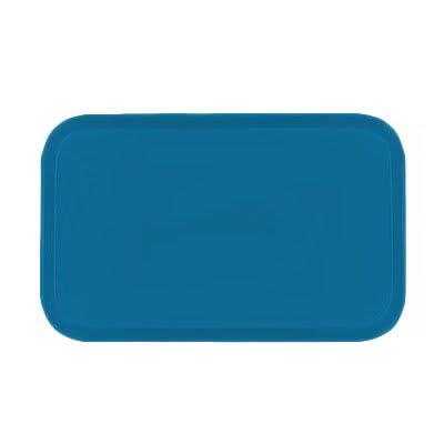 Carlisle 3753FG013 Rectangular Cafeteria Tray - 53x37cm, Ice Blue