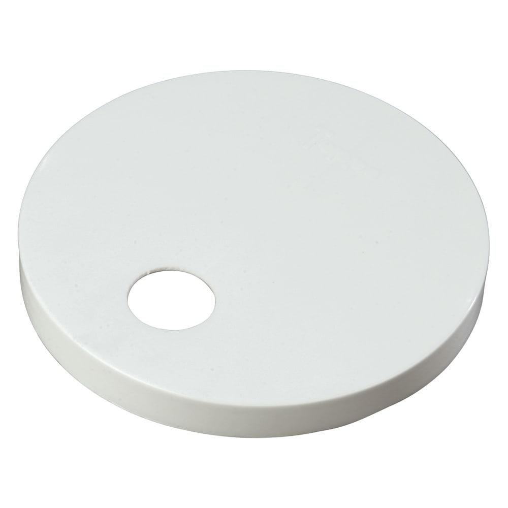 "Carlisle 38310160 6.3"" Pump Dispenser Cap - #10 Can, Plastic, White"