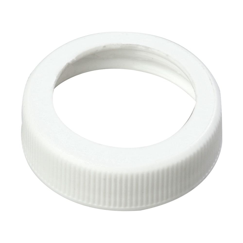"""Carlisle 3831038 1.49"""" Pump Dispenser Cap - Plastic, White"""