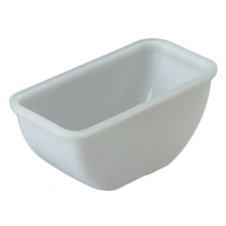 Carlisle 38700P Condiment Pint Insert - Polyethylene, Clear