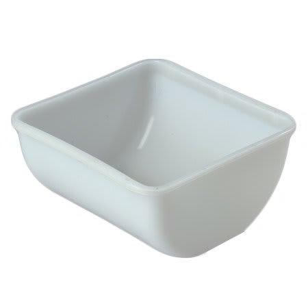 Carlisle 38700Q Condiment Quart Insert - Polyethylene, Clear