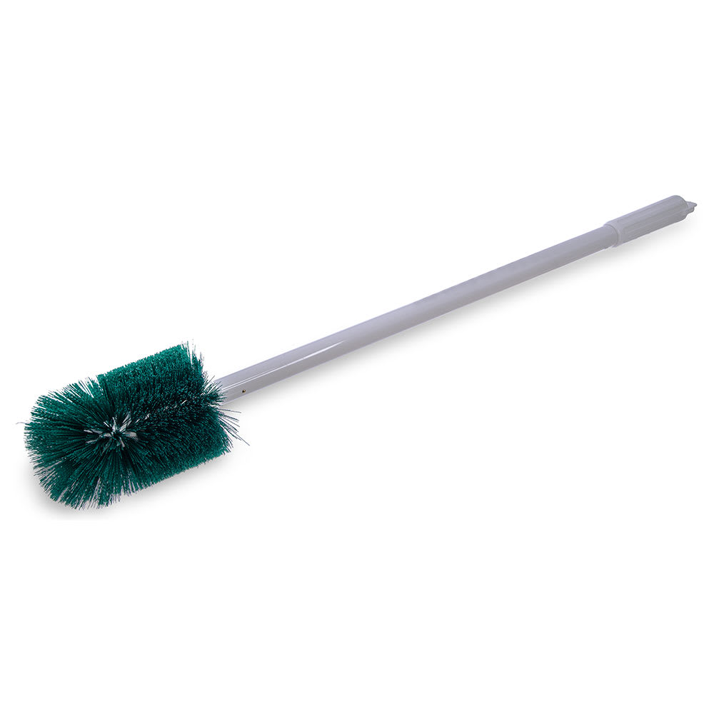 "Carlisle 4000309 30"" Oval Multi Purpose Valve/Fitting Brush - Poly/Plastic, Green"