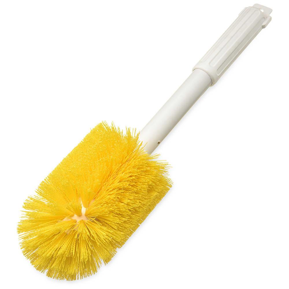 "Carlisle 4000504 16"" Multi Purpose Valve/Fitting Brush - Poly/Plastic, Yellow"