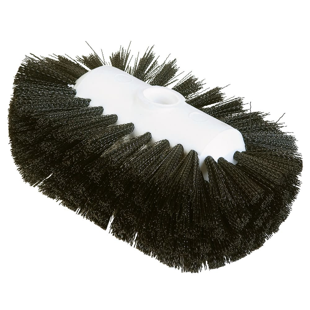 "Carlisle 4004103 7 1/2"" Tank/Kettle Brush Head - Nylon/Plastic, Black"