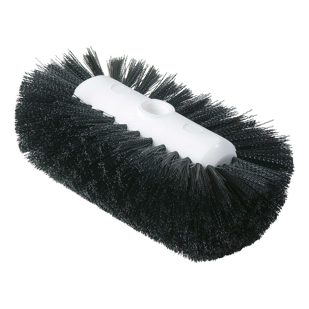 "Carlisle 4004303 9-1/2"" Tank/Kettle Brush Head - Nylon/Plastic, Black"
