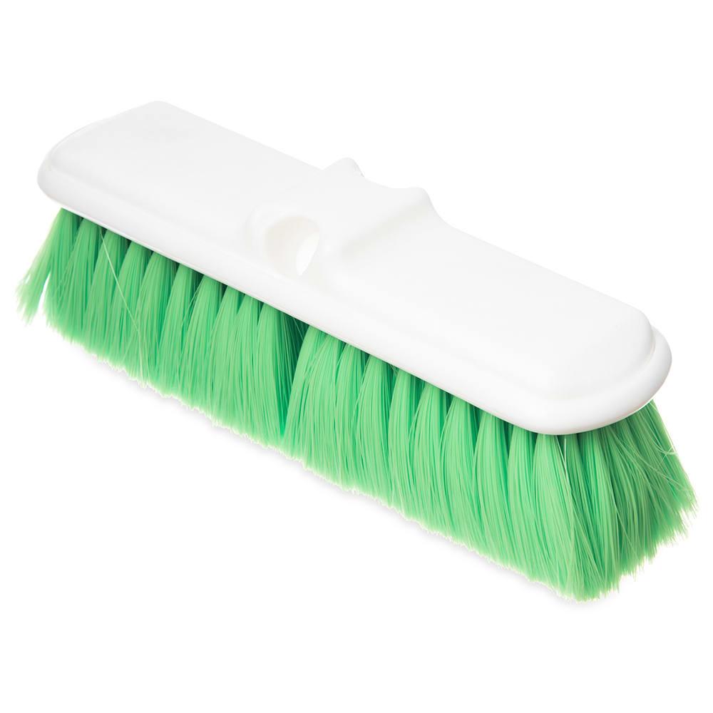 "Carlisle 4005075 9 1/2"" Wall Brush - Nylex/Plastic, Green"