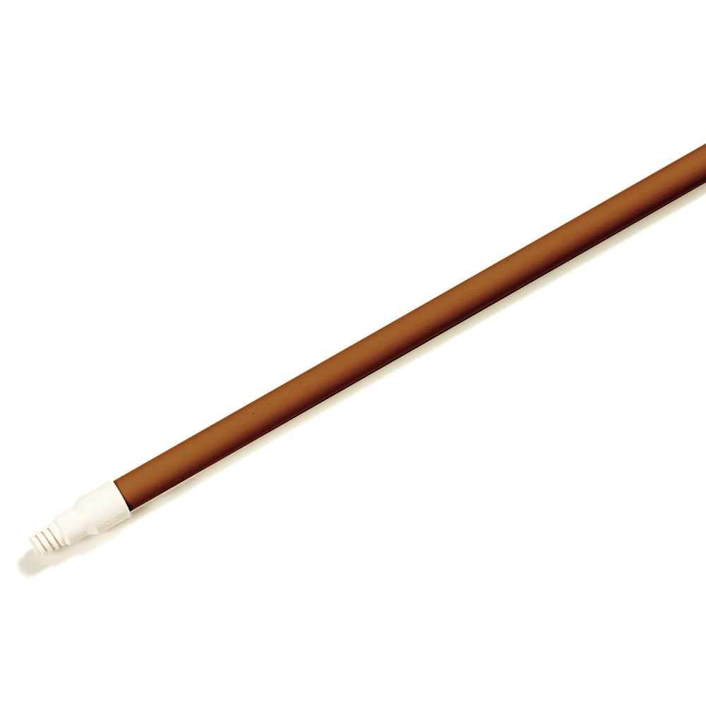 """Carlisle 4022001 60"""" Fiberglass Handle for Brooms, Sweeps, Squeegees & Floor Scrubs, Brown"""
