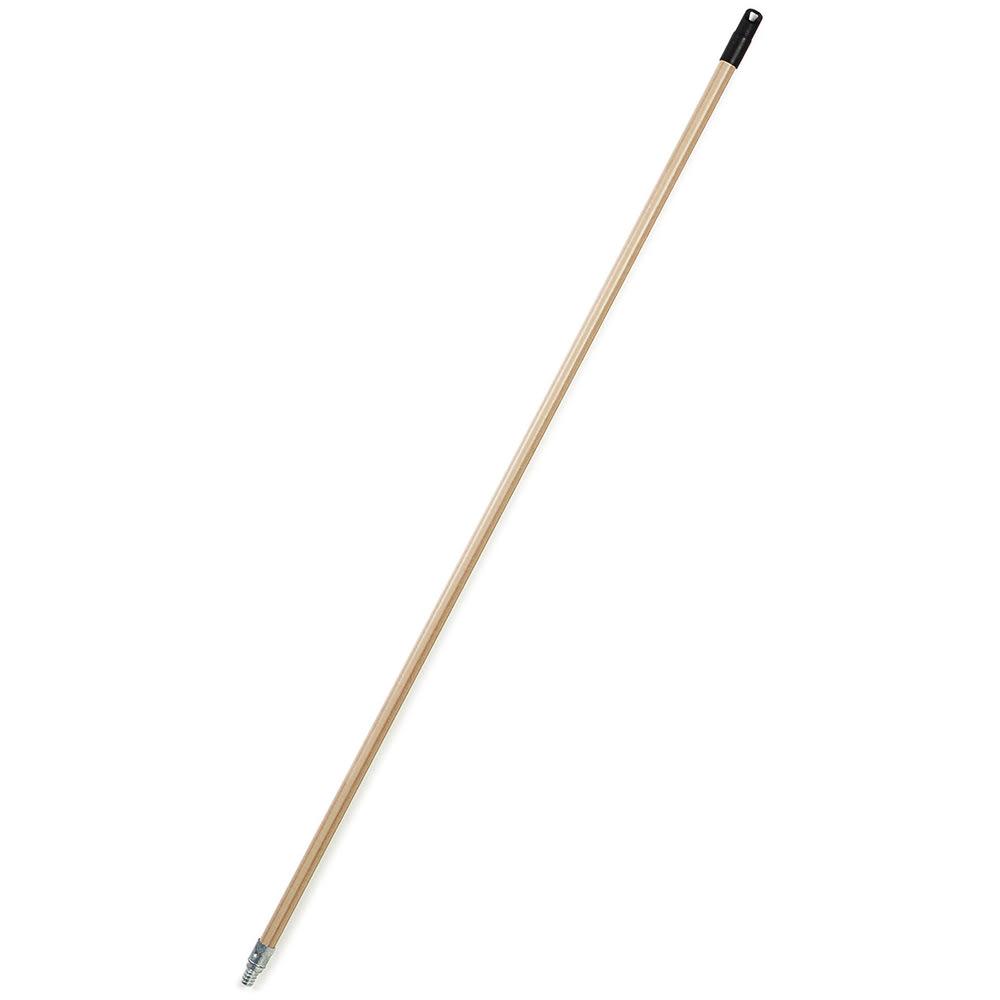 "Carlisle 4022300 60"" Wood Handle - Metal Tip"