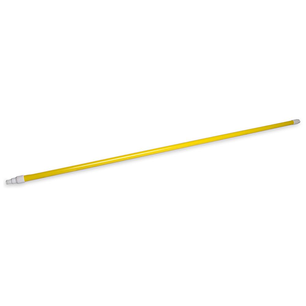 "Carlisle 4022504 60"" Handle - Threaded, Fiberglass, Yellow"