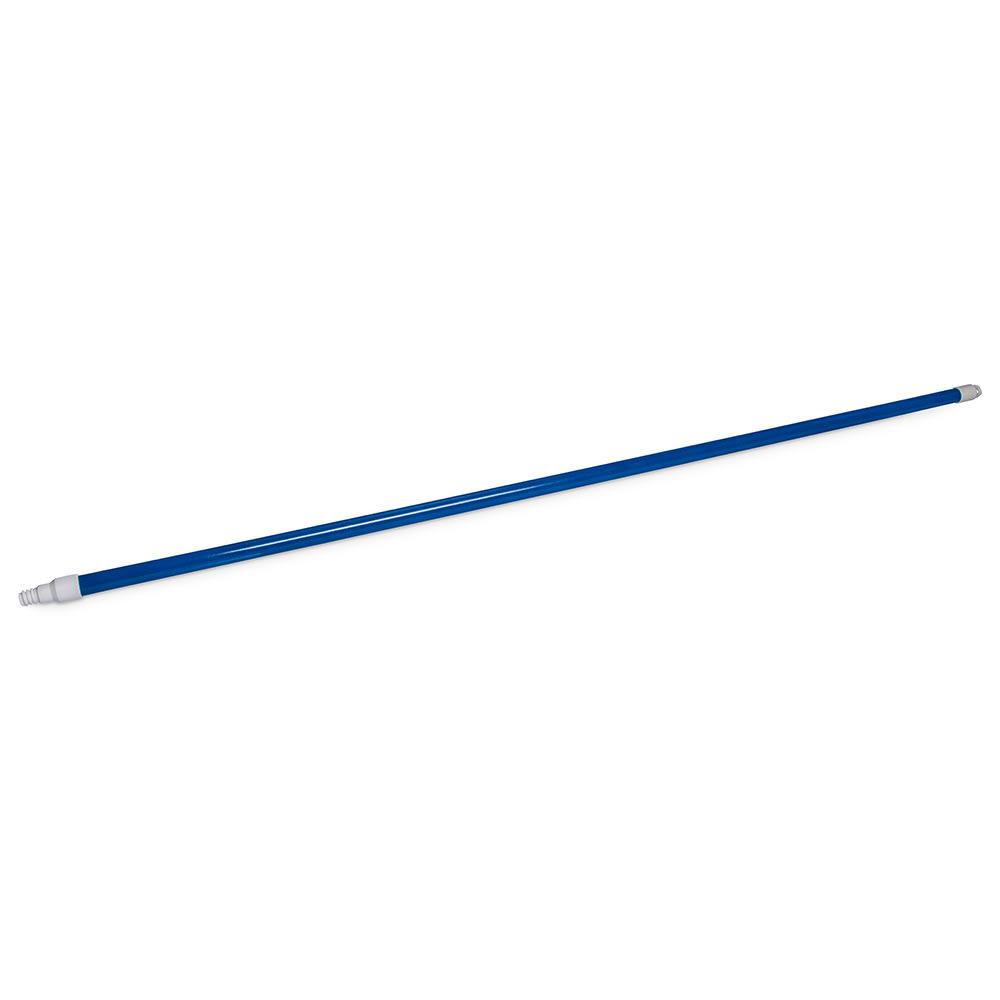 "Carlisle 4022514 60"" Handle - Threaded, Fiberglass, Blue"