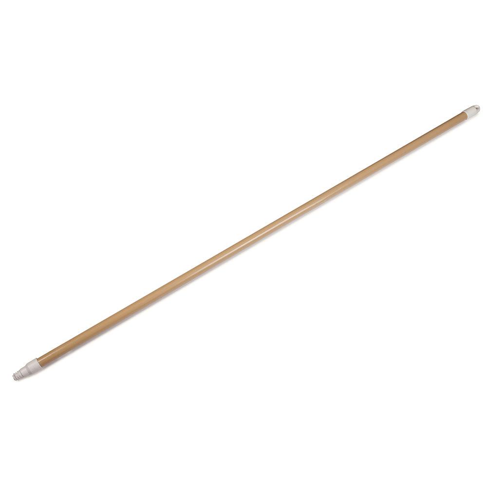 "Carlisle 4022525 60"" Threaded Fiberglass Flex-Tip Handle, Tan"
