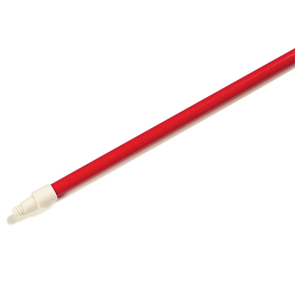 """Carlisle 4022705 60"""" Handle - 1"""" Diameter, Fiberglass, Red"""