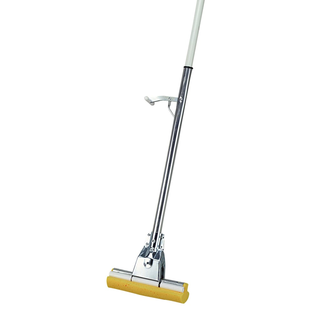 "Carlisle 4030000 51"" Professional Sponge Mop - 8 1/2x3"" Foam Sponge, Aluminum"