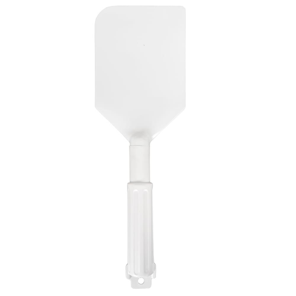 "Carlisle 4035002 13.5"" Spatula w/ Plastic Handle, White"
