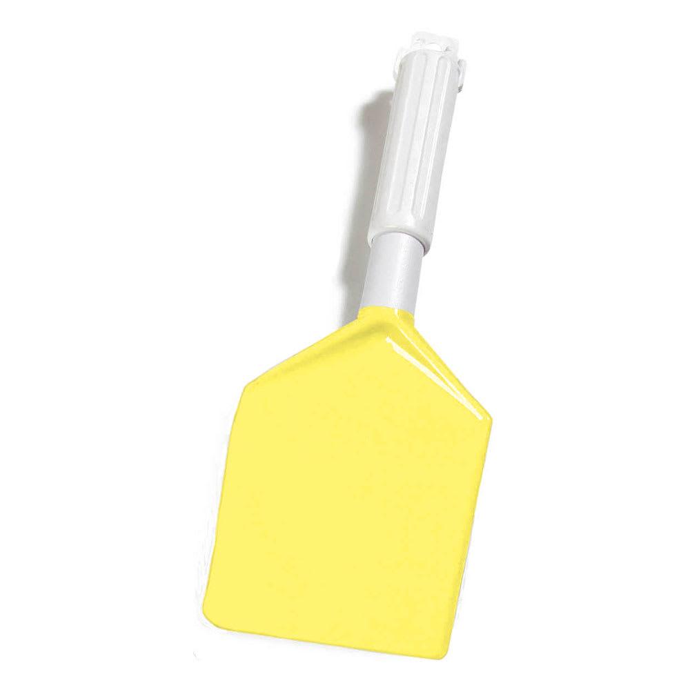 "Carlisle 4035004 13.5"" Spatula w/ Plastic Handle, Yellow"