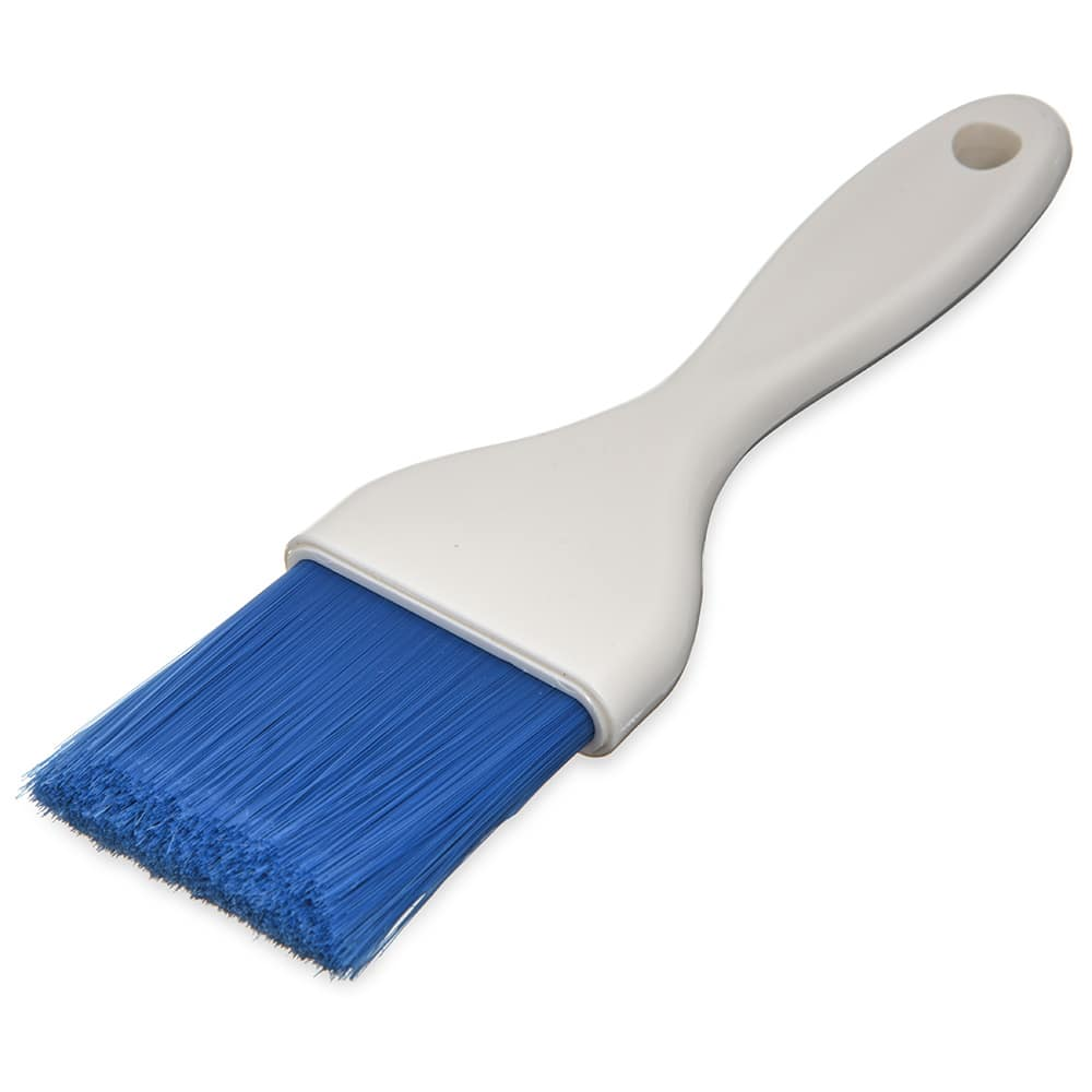 "Carlisle 4039114 2"" Pastry Brush - Nylon/Plastic, Blue"