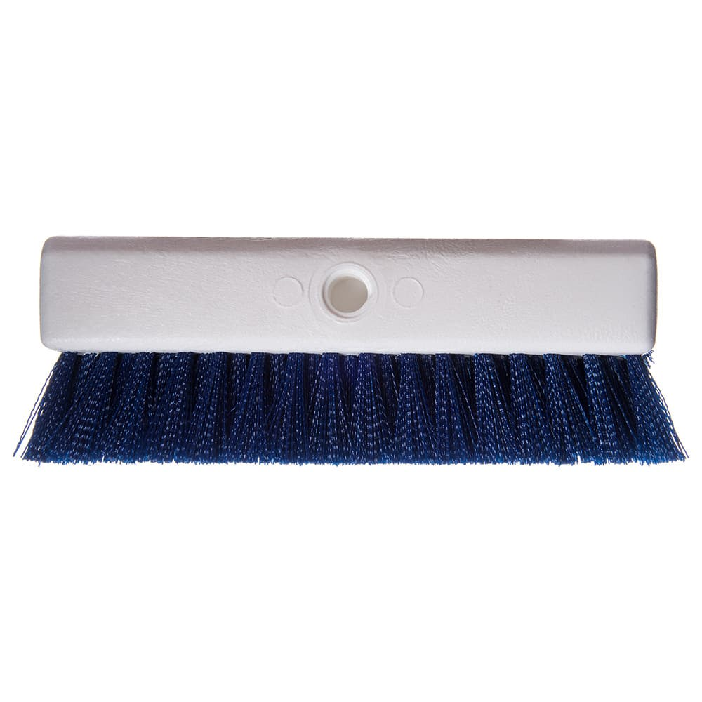 "Carlisle 4042314 10"" Floor Brush - Blue"